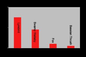 Tarra Bulga North West - Species Count