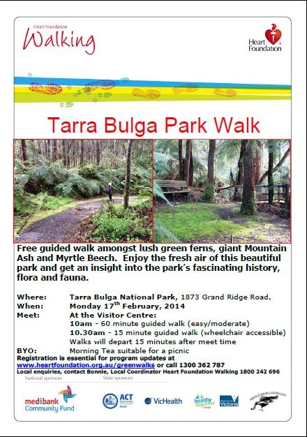 Green Walks Flyer