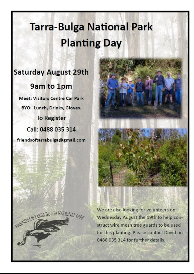 Planting Day – August29th